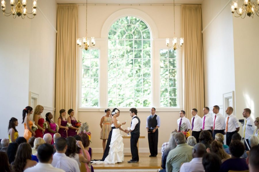 Wedding taking place in McKay Chapel this summer after renovations were completed!(Sophia Tolentino)