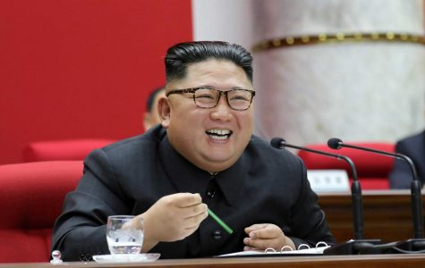 Kim Jong-un smiling(The Objective)
