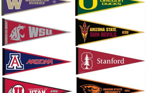 Pac 12 college flags(Amazon)