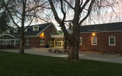The WCC at night(Lakeside School)