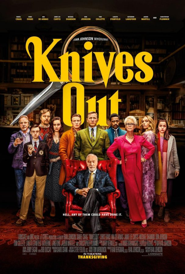 Knives Out poster(IMDb)