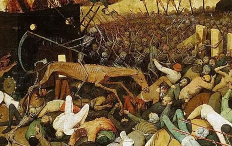 'The Triumph of Death', a painting inspired by the Black Death(Pieter Bruegel)