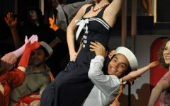 Julia performing in Anything Goes as a senior at Lakeside. (Schlaepfer)