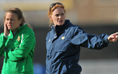 Theresa Romagnolo continuing her coaching success at Notre Dame(Cashore)